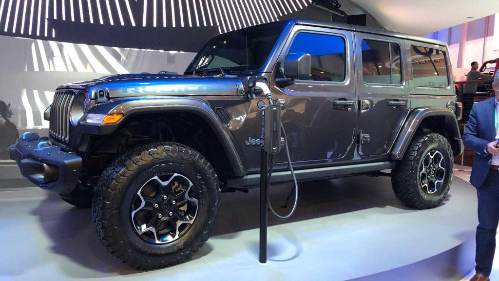 Jeep Wrangler híbrida