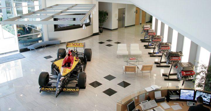 Oficina central del Honda Performance Development (HPD)