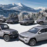 Las versiones Jeep North Edition 2020 hacen que cada modelo Jeep sea amigable con el invierno