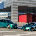 Alfa Romeo Giulia y Stelvio QF lucen nuevo color verde