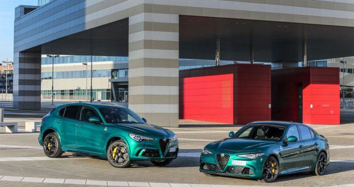 Alfa Romeo ha lanzado algunas actualizaciones y un nuevo color verde para el Giulia y Stelvio Quadrifoglio